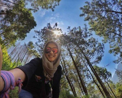 selfie-di-pinus-andong