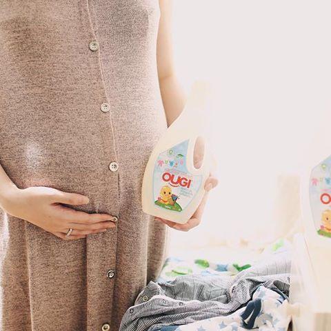Ougi Detergent dengan Busa Minimal