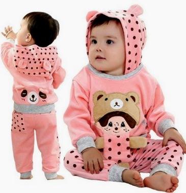 Pakaian bayi minim pewangi
