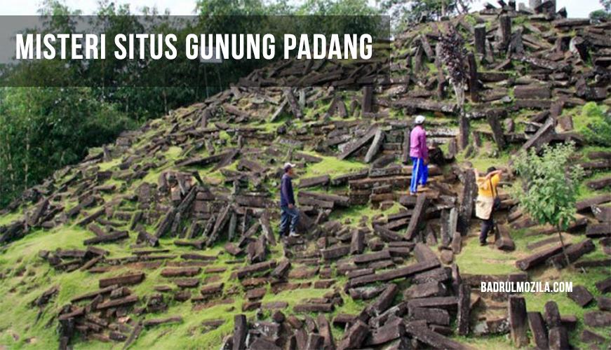 Fakta dan Misteri Situs Gunung Padang Cianjur Jawa Barat