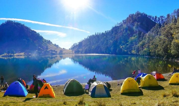 Danau Ranu Kumbolo Gunung Semeru