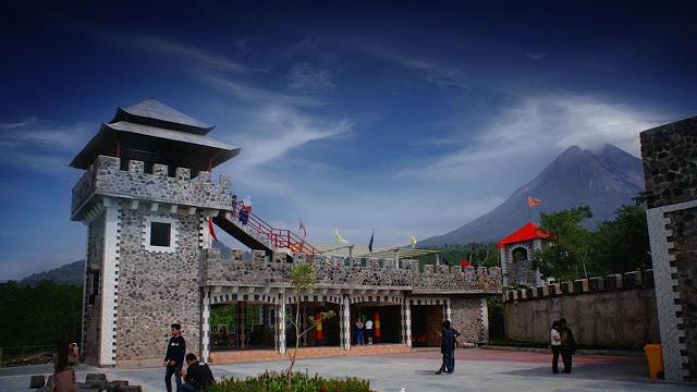 Tempat Wisata di Jogja the lost castle