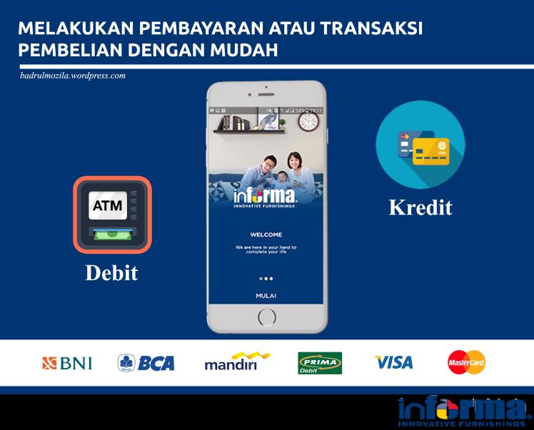 Kemudahan dalam pembayaran dengan mobile app informa