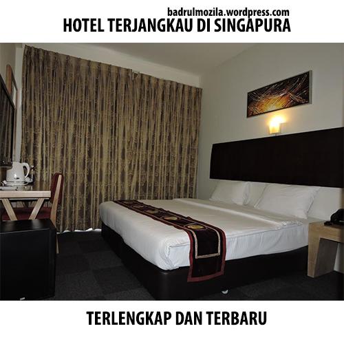 hotel Terjangkau di Singapura