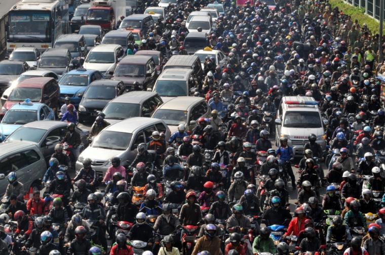 kemacetan jalanan badrulmozila