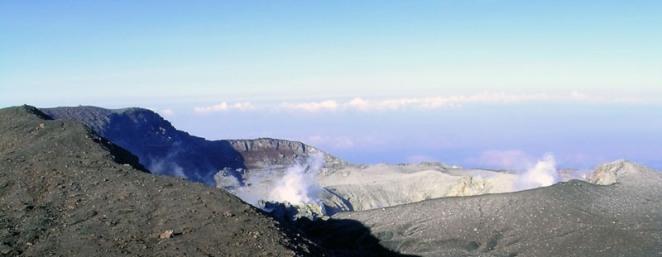 fakta dan misteri gunung slamet kawah segoro wedi