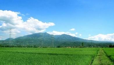gunung malabar gunung tertinggi di jawa barat