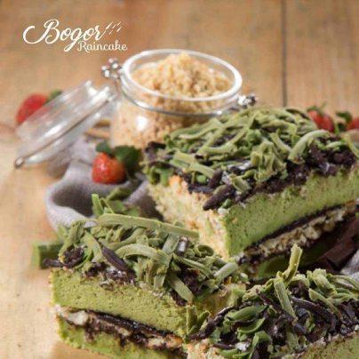 cake greentea ovamaltine Bogor Raincake Hujan, Harapan dan Keberkahan