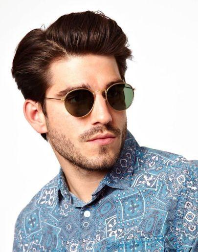 Model Kacamata Pria Terbaru Terpopuler di Tahun 2018 Frame Bulat