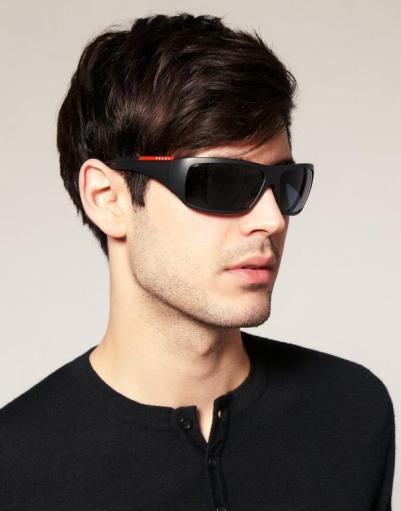 Model Kacamata Pria Terbaru Terpopuler di Tahun 2018 wrap around sunglasses