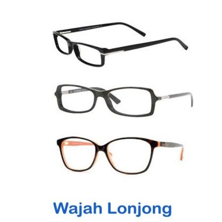 Model Pilihan Kacamata Berkualitas Pria dan Wanita Terbaru bentuk wajah lonjong