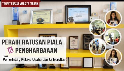 penghargaan baba studio sebagai kursus online dan belajar online terbaik