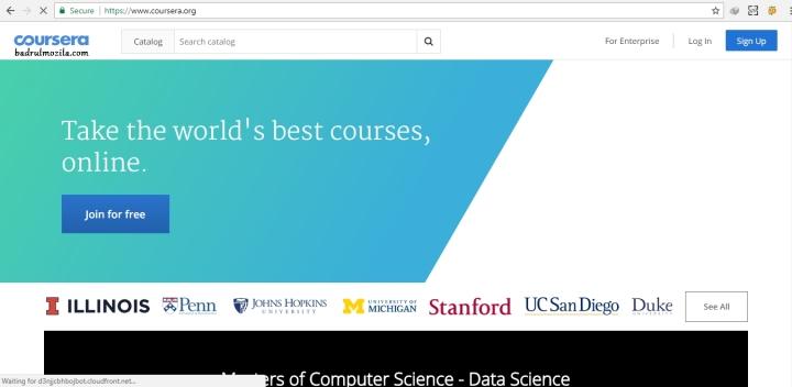 situs kursus online gratis coursera