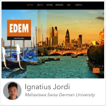Kursus Website Jakarta, Depok, Tangerang Dumet School karya murid 4
