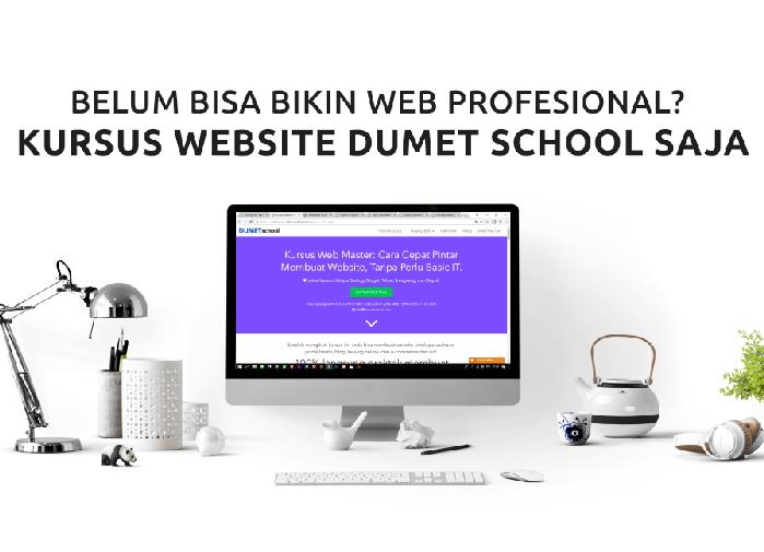 Kursus Website Jakarta, Depok, Tangerang Dumet School Pilihan Terbaik