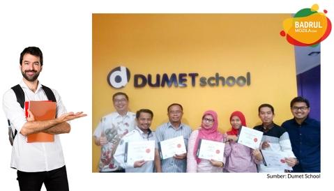 sertifikat dumet school kursus internet marketing jakarta, depok, tangerang