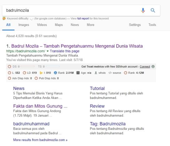 site link badrulmozila