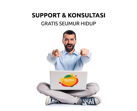 Support dan Konsultasi Gratis Kursus Internet Marketing Jakarta, Depok, Tangerang