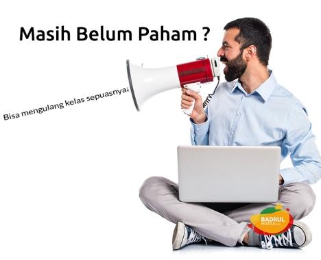 ulang kelas sepuasnya di Kursus Internet Marketing Jakarta, Depok, Tangerang