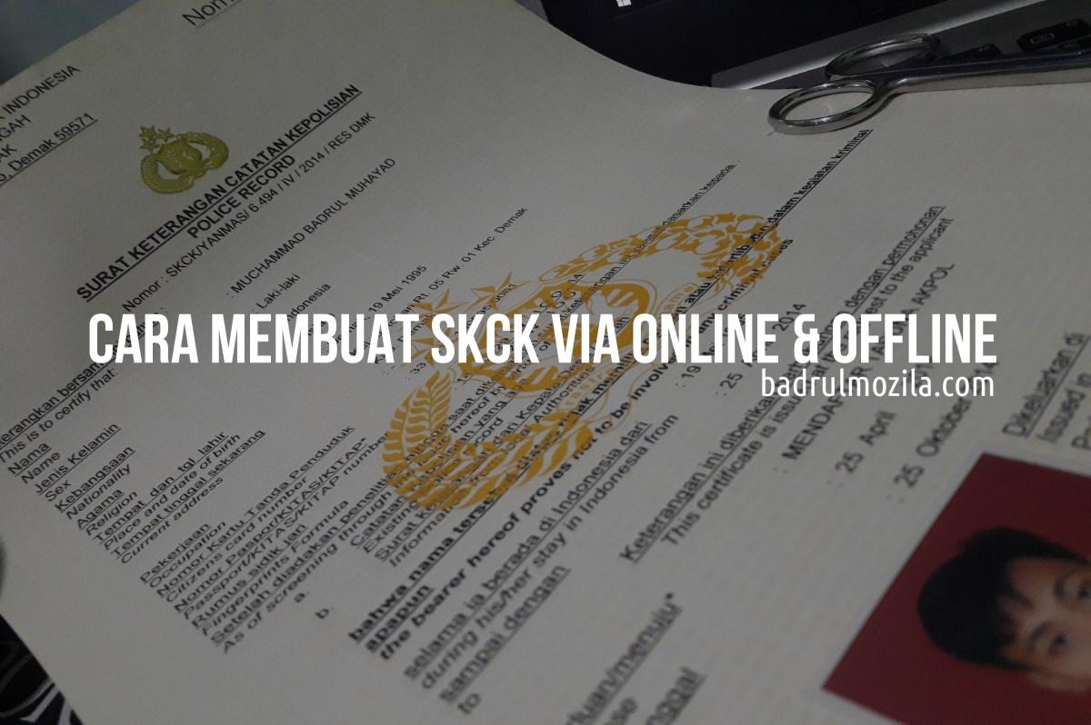 Cara Membuat Surat Keterangan Catatan Kepolisian (SKCK) Secara Online Maupun Offline, Berikut Prosedur, Syarat, dan Biaya