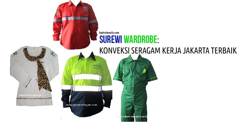 Konveksi Seragam Kerja Jakarta Surewi Wardrobe Pilihan Terbaik