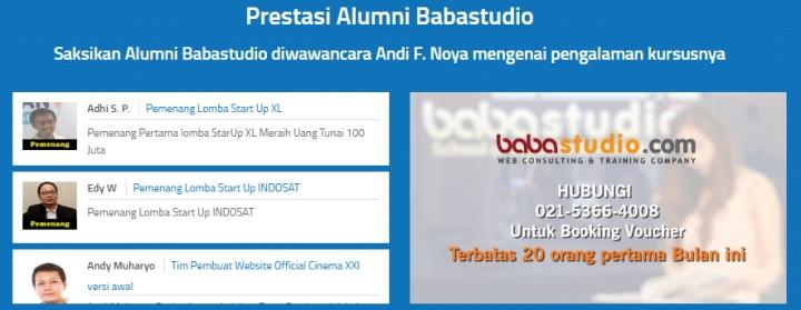 Sejarah Baba Studio Prestasi Murid