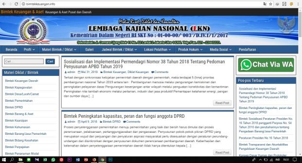 Sejarah Lembaga Kajian Nasional (LKN)