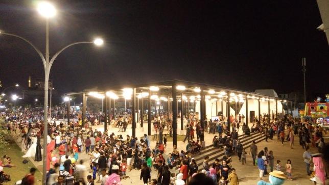 Tempat Wisata Malam Jakarta Murah Meriah Taman Kalijodo Malam Hari 2