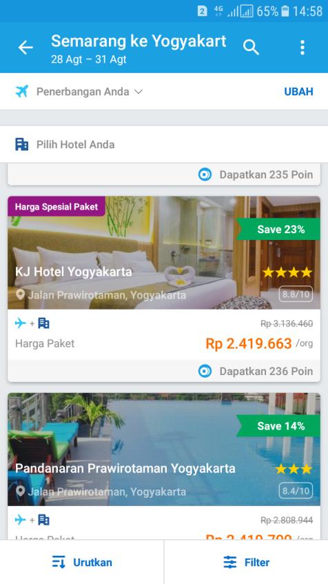 Pesan Tiket Pesawat dan Hotel di Traveloka dapatkan promo 20%