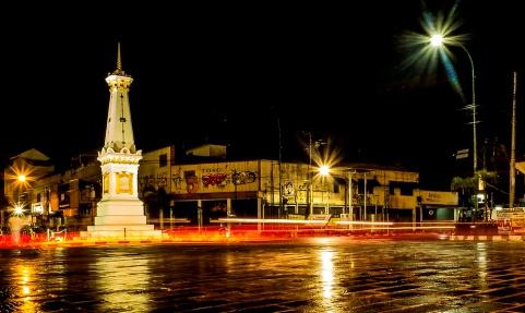 Wisata Malam Jogja Dengan Spot Foto Keren dan Terbaru di Malam Hari Tugu Jogja