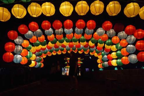 Wisata Malam Jogja Dengan Spot Foto Keren Taman Pelangi Jogja