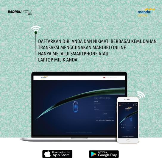 Download Mandiri Online dan Nikmati Kemudahan Bayar Belanja Online