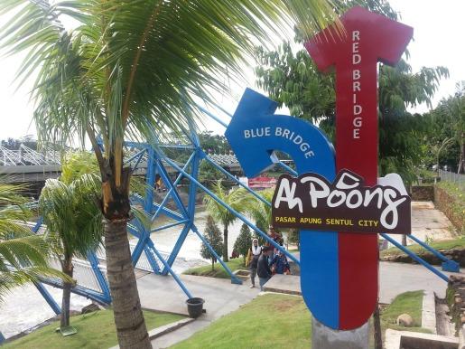 Tempat Wisata Malam di Bogor Terbaru Jembatan Pasar Ah Poong Bogor